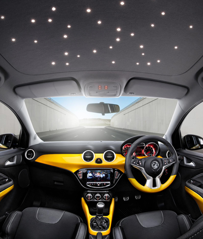 Picture of the Vauxhall Adam's interior