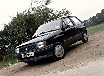 A picture of the Vauxhall Nova