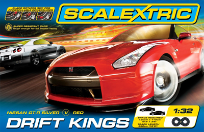 Scalextric Drift Kings box