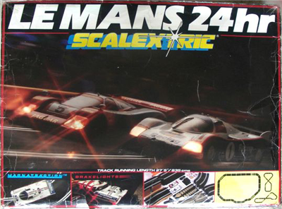 Scalextric Le Mans box