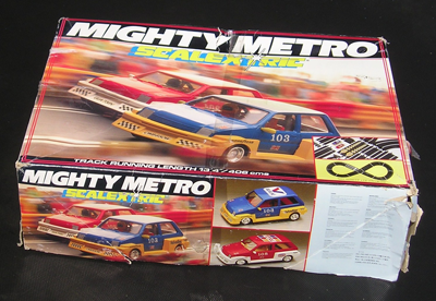 A Mighty Metro Scalextric box