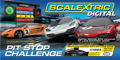 Scalextric Pit Stop box