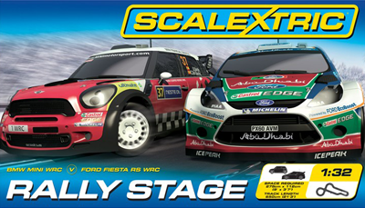 Rally Stages Scalextric box