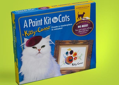 Paint kit of cats