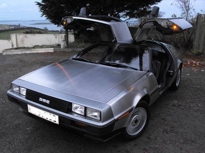 A DeLorean
