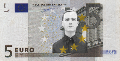 5 Euro Note with Ralf Hutter