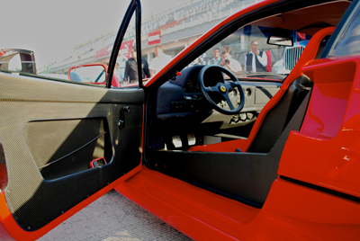 Ferrari F40 door