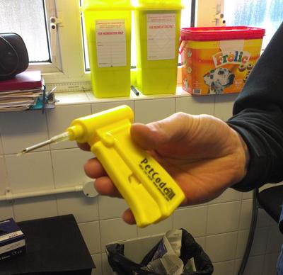 A microchip gun