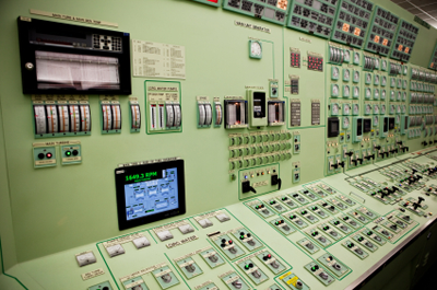 Nuclear power station controls