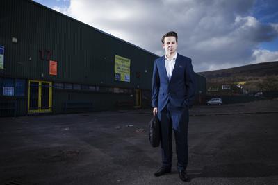 Fraser O'Brien in business attire