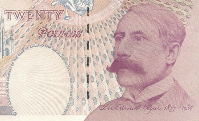 Elgar £20 note