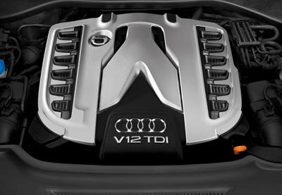 Audi V12 TDI Diesel Engine