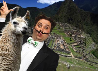 Gio Compario and llama