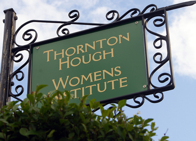 Womens Institute sign