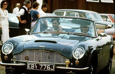 Charles's Aston Martin