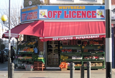 Urban off-license
