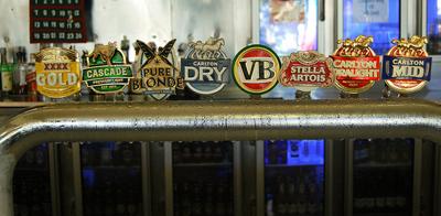 Australian beer taps