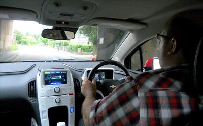 Phil Huff drives Chevrolet Volt