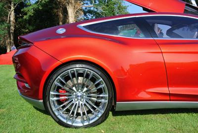 Evos rear side profile