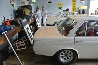 BMW garage Goodwood