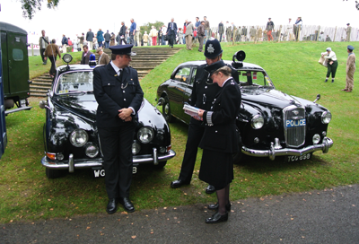 Police at Goodwood