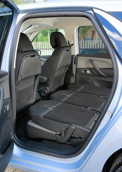 C4 rear seats