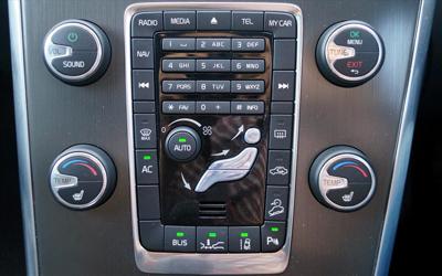 XC60 centre console