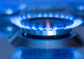 image of gas hob