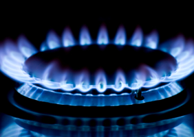 Image of gas flame