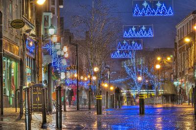 Image of Christmas shops