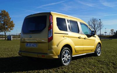 Ford Tourneo rear 3/4