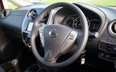 Image of Nissan Note steering wheel