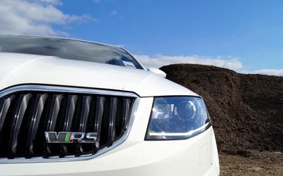 Image of Skoda Octavia VRS estate front bumper