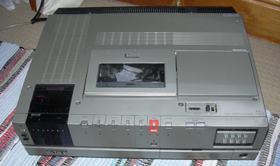 Betamax player