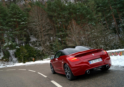 Image of Peugeot RCZ R rear