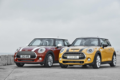 New Minis side by side