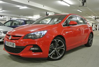 Image of Vauxhall Astra Biturbo