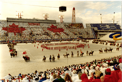 Image of Calgary Winter Olympics opening ceremony