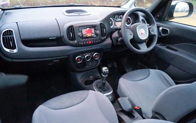 Image of Fiat 500L interior