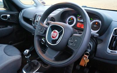 Image of 500L interior