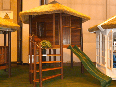 Image of bamboo hut