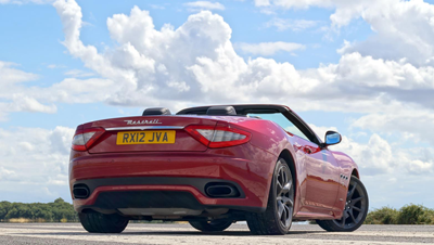 Image of Maserati GrandCabrio rear