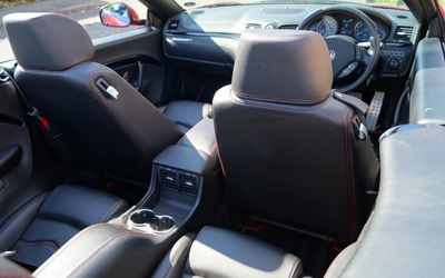 Image of Maserati GrandCabrio rear seats