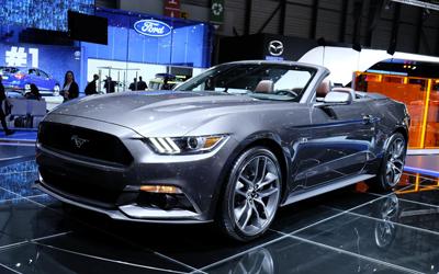 Image of Ford Mustang at Geneva