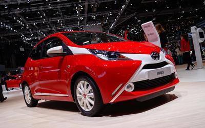 Image of Toyota Aygo Geneva