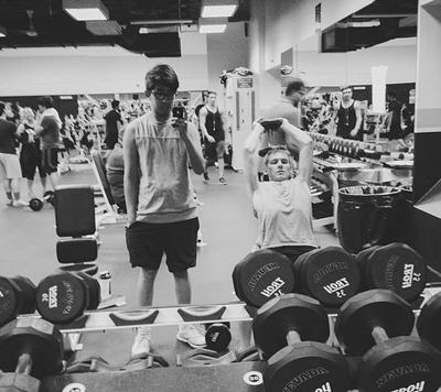 Gym selfie - BTNPhoto