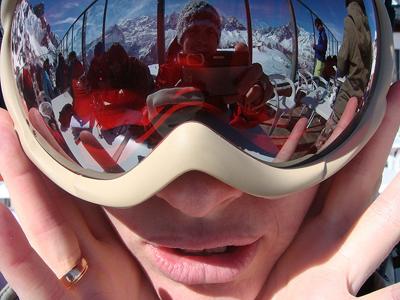 Ski goggle tan - Frankensteinnn