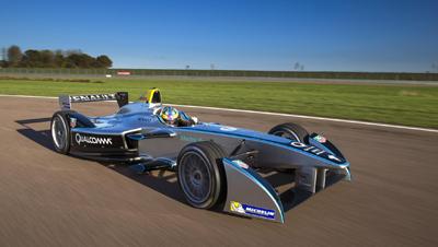 Image of Renault Spark Formula E car