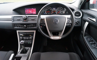 Image of MG6 front interior