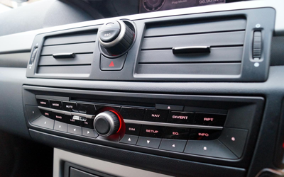 Image of MG6 stereo controls